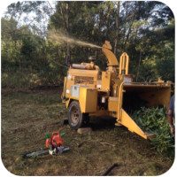 chipper land clearing